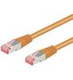 GOOBAY Patchkabel S-FTP RJ45 CAT6 PiMF Orange 0.25 m.
