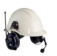PELTOR LITECOM PLUS LC+PMRP3 PMR 446 EAR DEFENDER HELMET      IN ACCS