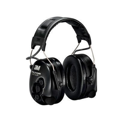 PELTOR PROTAC II PTAC2S ACTIVE LISTENING BLACK HEADBAND  IN ACCS (XH001650031)