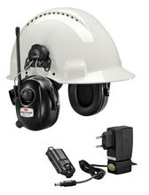 PELTOR RADIO XP HRXP7P3A HEARING PROTECTOR HELMET         IN ACCS (XH001678917)