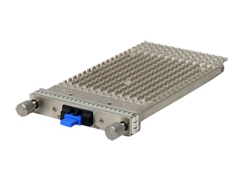 Alcatel-Lucent 7x50 1-port 100GBase SR10 CFP multimodus 100 m MPO-kontakt-tranceiver.