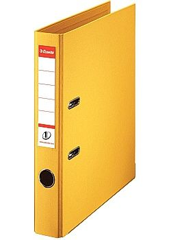 Esselte binder LAF No1 Power PP A4/50mm Yellow - FSC