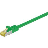 Goobay Patchkabel RJ45 S/FTP Cat7 20.00m grün PIMF (91658)