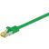 GOOBAY Patchkabel S-FTP RJ45 CAT7 PiMF Grøn 1.5 m.