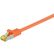 GOOBAY Patchkabel S-FTP RJ45 CAT7 PiMF Orange 1.5 m.
