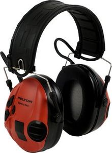 3M PELTOR SPORTTAC STAC-RD EAR DEFENDERS BLACK RED          IN ACCS (XH001650056)