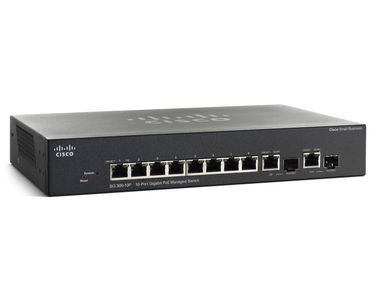 SG300-10PP 10-port Gigabit Po