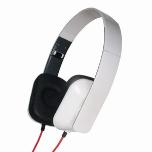 GEMBIRD Folding stereo headphones,  glossy-white (MHP-FCO-GW)