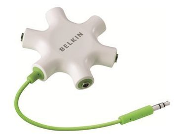 BELKIN Multi Headphone Splitter/ 5 x 3_5mm hona (F8Z274BT)