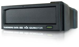 TANDBERG RDX EXTERNAL DRIVE BLACK USB 3+ NO SOFTWARE INCLUDED             IN EXT (8782-RDX)