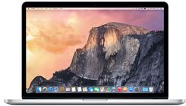 "MacBook Pro 15"" Retina Display Quad-core i7 2.2GHz, 16GB, 256GB, Iris Pro Graphics"