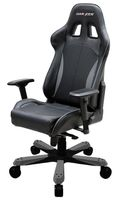 King KF57 Gaming Chair, Kunstleder - schwarz/ grau