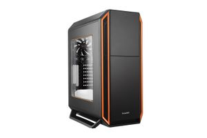 Silent Base 800 Midi-Tower - orange Window