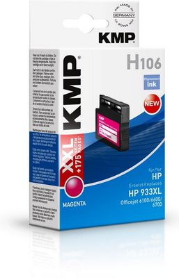 H106 ink cartridge magenta comp. with HP CN 055 AE 933 XL