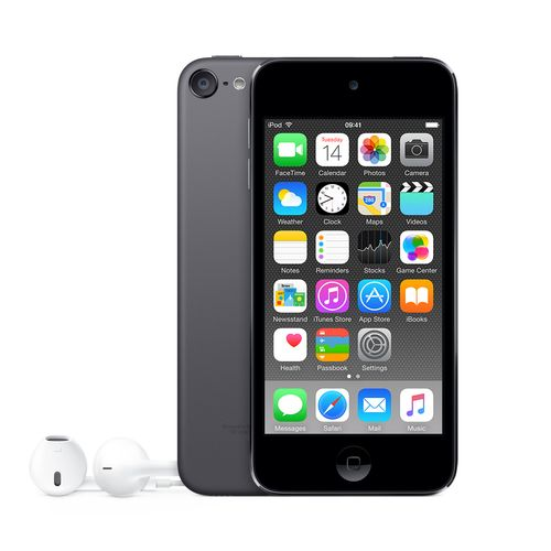 APPLE iPod Touch 32GB 6. generasjon,  mørk grå (Space Gray) (MKJ02KN/A)