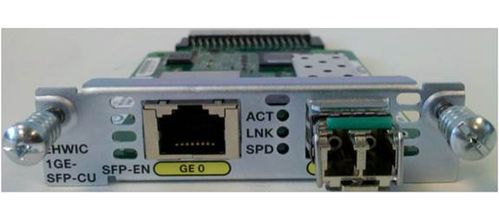 CISCO 1-port GE WAN NIM  dual-mode R (NIM-1GE-CU-SFP=)