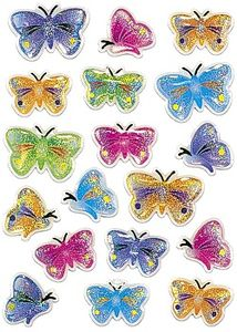 HERMA Stickers HERMA Magic sommerfugle 1 ark (5251*10)