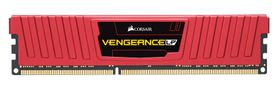 Vengeance DDR3L 8GB, 1600MHz, 2x240, red LP