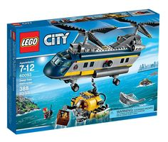 City 60093 Deep Sea Helicopter