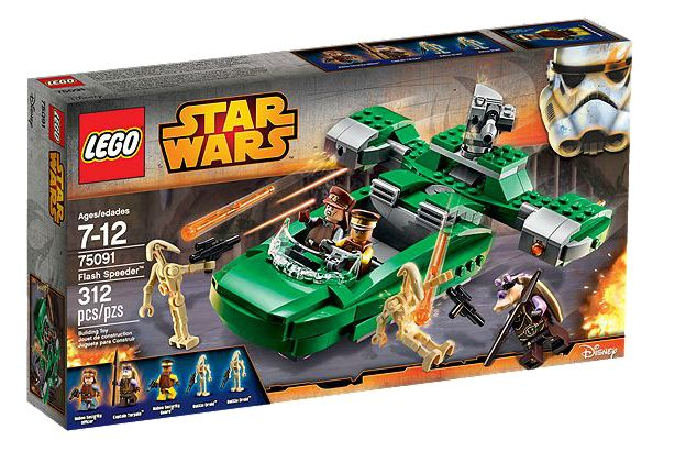 Star Wars 75091 Flash Speeder