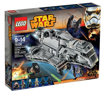 Star Wars 75106 Imperial Assault Carrier