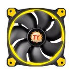 THERMALTAKE RIING 14 LED YELLOW 140X140X25 BLUE LED LNC CPNT (CL-F039-PL14YL-A)