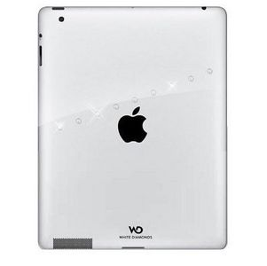 WHITE DIAMONDS Sash Transp. New iPad 3 Skal (1150SAS5)