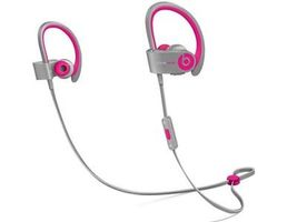 APPLE BEATS POWERBEATS 2 WIRELESS PINK/GREY IN (MHBK2ZM/A)