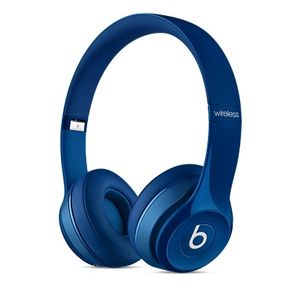 APPLE BEATS SOLO2 ON-EAR HEADPHONES BLUE IN (MHNM2ZM/A)
