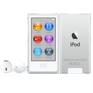 iPod Nano 16GB 8. generation,  vit & silver