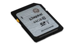 KINGSTON 64GB SDXC CLASS10 UHS-I 45MB/S READ