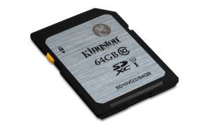 KINGSTON 64GB SDXC CLASS10 UHS-I 45MB/S READ (SD10VG2/64GB)
