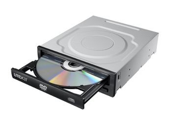 LITE-ON DVD ROM S-ATA iHDS118 black bulk (IHDS118)