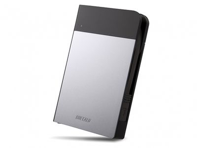 BUFFALO MINISTATION EXTREME 1TB SILVER USB 3.0 WATER/ DUST RESISTANT HDD IN EXT (HD-PZF1.0U3S-EU)