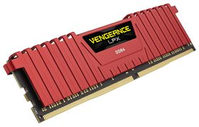 CORSAIR V LPX 16GB DDR4 Red 2x288, 2133MHz, 1.20v (CMK16GX4M2A2133C13R)