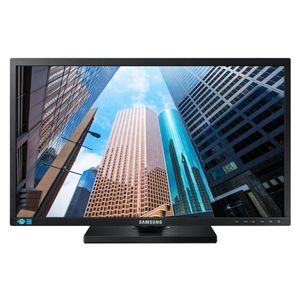 SAMSUNG 24inch 16:9 Wide 1920x1080 TN-LED HAS/ Swivel/ Pivot 130mm Analog/ DVI DVI Cable (LS24E45KBSV/EN)