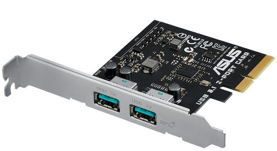 Con PCIe USB3.1 2-port Type A