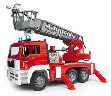 MAN Fire Engine with Ladder, Pump, Light and Sound