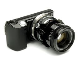 Adapter ALPA to Sony E Mount