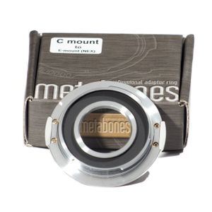 METABONES Adapter C Mount to Sony E-Mount (MB_C-E-CH1)