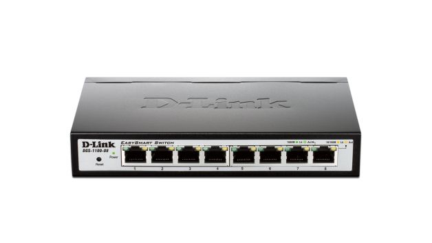 EasySmart 8-Port Gigabit Switch