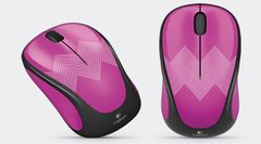 LOGITECH Wireless Mouse M238 Purple zig