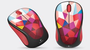 LOGITECH Wireless Mouse M238 Red Facets  (910-004519)