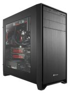 Obsidian 350D MicroATX Windowed, Minitower,  No PSU