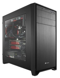 CORSAIR Obsidian 350D MicroATX Windowed, Minitower,  No PSU (CC-9011029-WW)