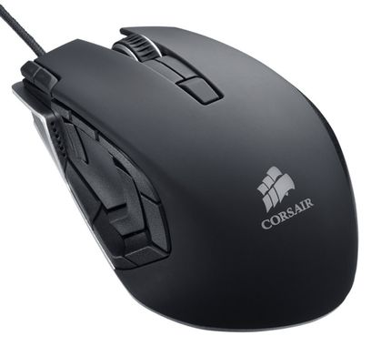 Vengeance M95 PerformanceDPI: 8200 •Programmable Buttons: 15, MMO/RTS Gaming Mouse Black