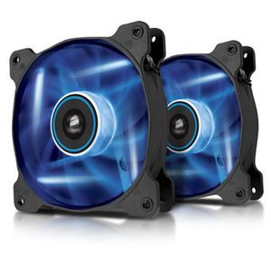 CORSAIR LED Fan AF120 Blue_ Dual Pack (CO-9050016-BLED)