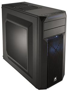 CORSAIR Carbide Series SPEC-02 Blue LED Mid Tower Case (CC-9011057-WW)