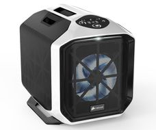 Graphite Series 380T, White Portable Mini ITX Case