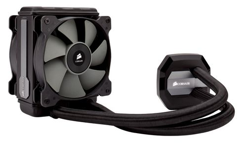 CORSAIR Water Cooling, Hydro Series,  H80i GT, Fan dimensions 120mm x 25mm  Radiator Dimensions 154mm x123mm x 49mm (CW-9060017-WW)